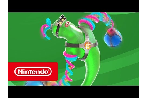 New ARMS Character Trailer: Helix (DNA Man) : Games