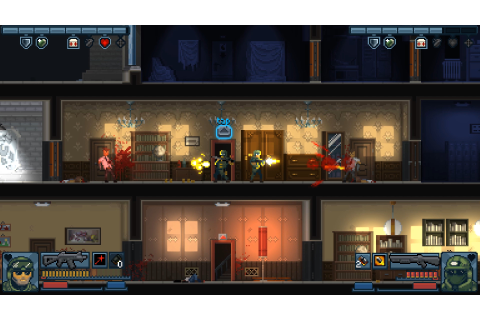 Co-op 2D SWAT Shooter Door Kickers: Action Squad Leaves ...