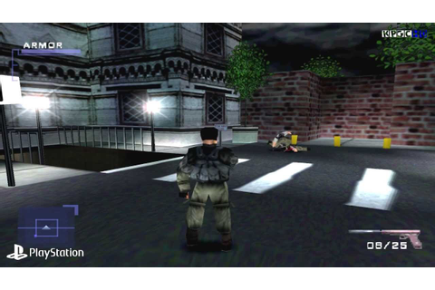 [PS1] Syphon Filter Gameplay with ePSXe (Full HD)[1080p ...
