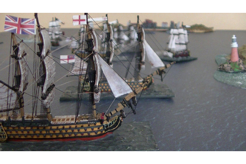 Age of Sail Wargame - YouTube