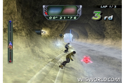 Snowboard Riot on WiiWare