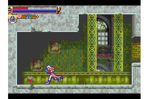 CastleVania: Harmony Of Dissonance (Game Boy Advance) with ...