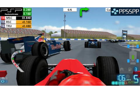 F1 06 - PSP Gameplay 1080p (PPSSPP) - YouTube