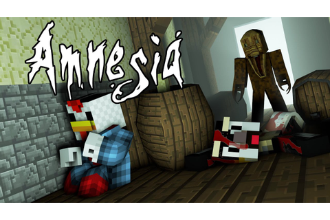 Minecraft | AMNESIA MOD Showcase! (The Dark Descent ...