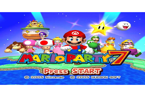 Mario Party 7 Title Screen - YouTube