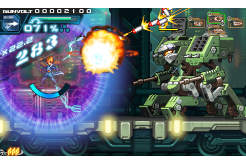 Azure Striker Gunvolt: Striker Pack announced for Switch ...