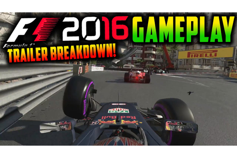 F1 2016 Game: Formation Lap Gameplay, Damage Model & More ...
