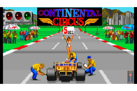 Continental Circus - Classic Arcade Racing Game (Taito ...
