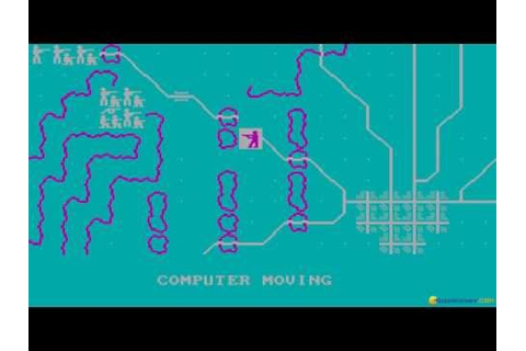Gettysburg: The Turning Point gameplay (PC Game, 1986 ...