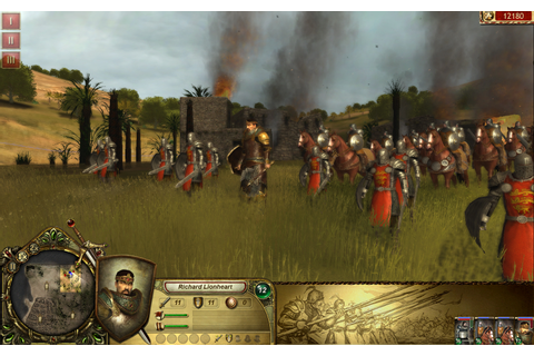 Lionheart: Kings' Crusade Review - Crusade Real-time Strategy