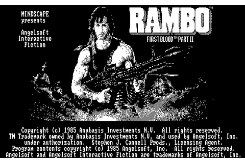 Download Rambo: First Blood Part II - My Abandonware