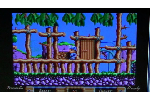 Amiga 500 Flimbo'S Quest game - YouTube