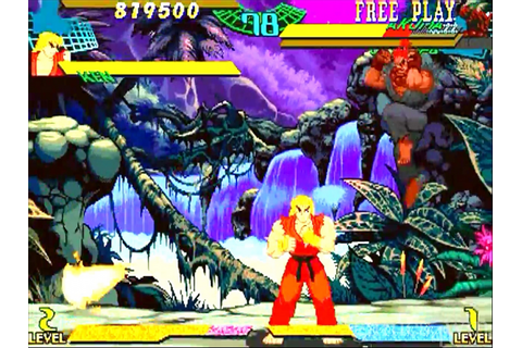 Marvel Super Heroes vs Street Fighter. Download and Play ...
