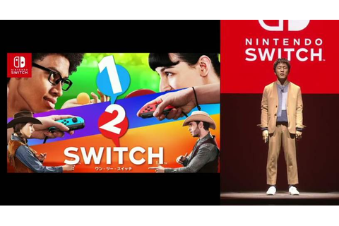 Nintendo Switch first exclusive party game called 1-2 ...