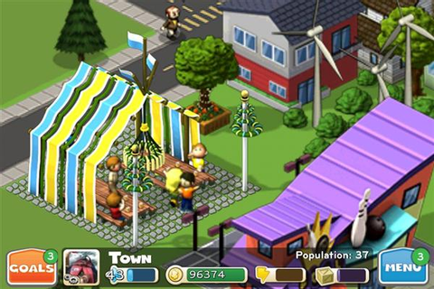 CityVille Hometown for iPhone