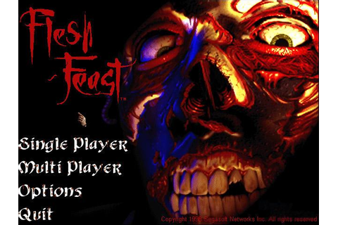 Flesh Feast Download (1997 Arcade action Game)