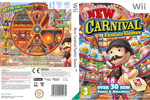 S2CP54 - New Carnival Funfair Games