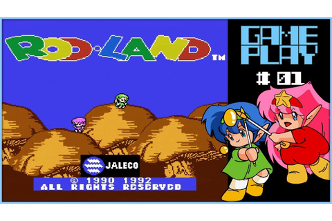 Rod Land - Famicom - game play 015 - Part 1 - YouTube