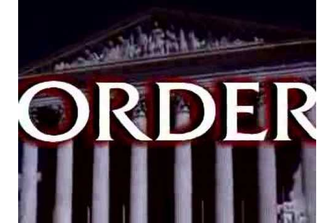 Law & Order: Dead On The Money Intro - YouTube
