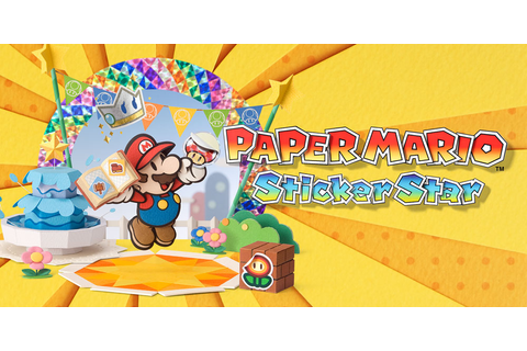 Paper Mario: Sticker Star | Nintendo 3DS | Games | Nintendo