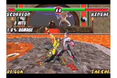 Mortal Kombat Deadly Alliance GBA Gameplay - YouTube