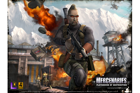 Pretty Cool Games: MERCENARIES: PLAYGROUND OF DESTRUCTION!