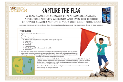 PLAY A GAME OF CAPTURE THE FLAG AND CELEBRATE THE TRIALS ...