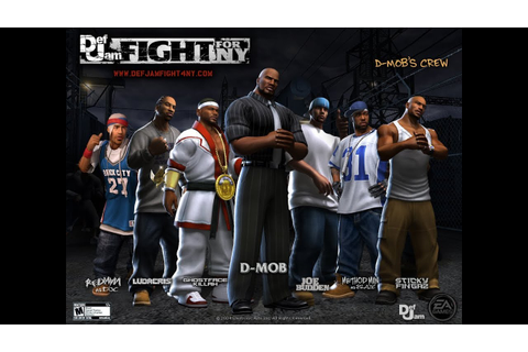 PS2 летсплеи - Def Jam: Fight for NY # 1 - YouTube