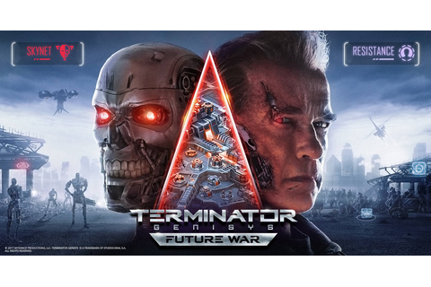 Mobile Game Terminator Genisys: Future War Launches