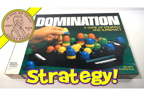 Domination The Game of Strategy and Supremacy #4207, 1982 ...