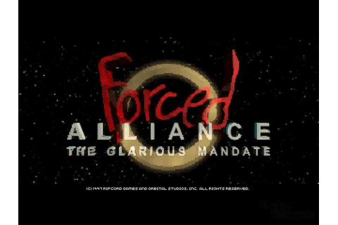 Forced Alliance Download (1997 Simulation Game)