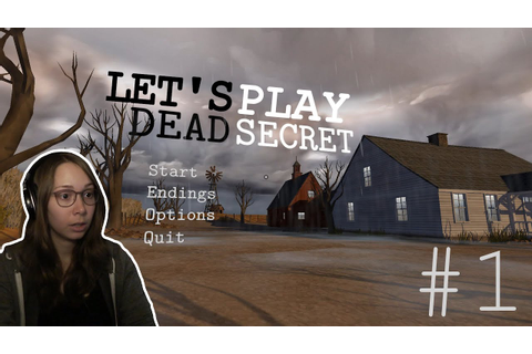 [ Dead Secret ] Murder Mystery Indie Horror Game - Part 1 ...