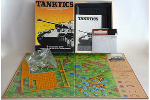 Tanktics game Apple II | Se wargame situé pendant la ...