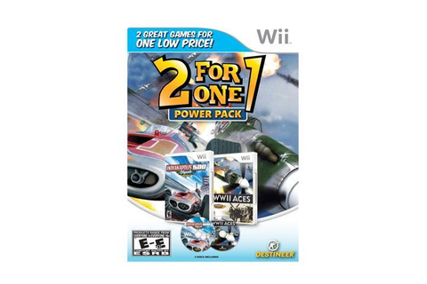 2 for 1 Power Pack: Indy 500/WWII Aces Wii Game - Newegg.com