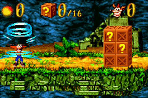 Play Crash Bandicoot XS Online - Play Game Boy Advance ...