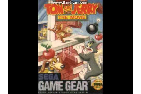 Tom and Jerry the movie Game Gear (ORIGINAL SOUNDTRACK ...