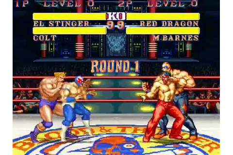 Saturday Night Slam Masters VS 3 Count Bout CAPCOM VS SNK ...