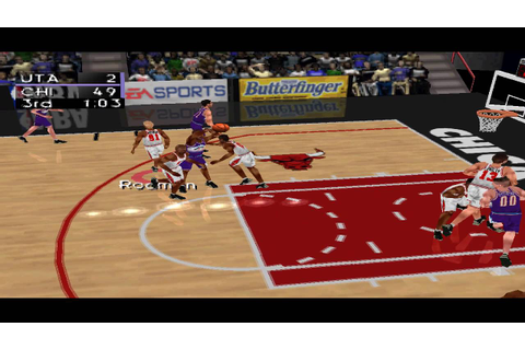 NBA Live 98 PS1 Gameplay HD - YouTube
