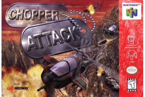 Chopper Attack Nintendo 64 Game