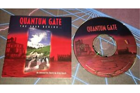 Quantum Gate PC Game Interactive Movie 1994 734679080215 ...