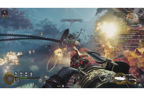 New Shadow Warrior 2 gameplay demonstration is ...