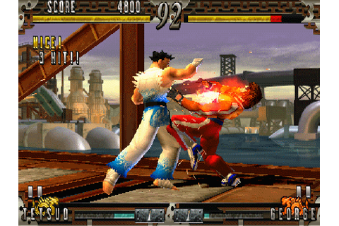 Fighting Layer arcade video game by NAMCO (1998)
