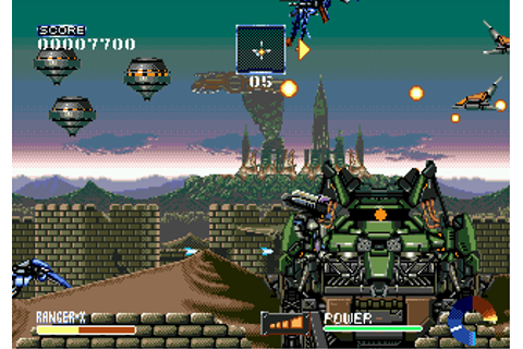 Download Ranger X (Genesis) - My Abandonware