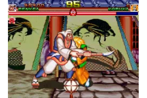 Shogun Warriors [Arcade] - Oni, Tengu & Benkei - YouTube