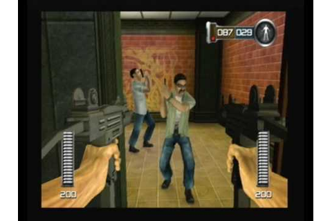 DIE HARD VENDETTA PS2 CINEMA - YouTube