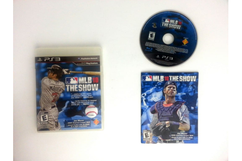 MLB 10 The Show game for Playstation 3 (Complete) | The ...