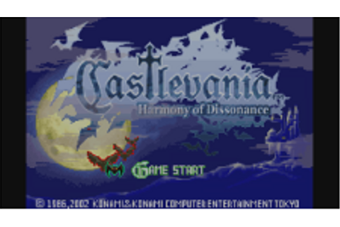 Castlevania: Harmony of Dissonance | Game Boy Advance ...