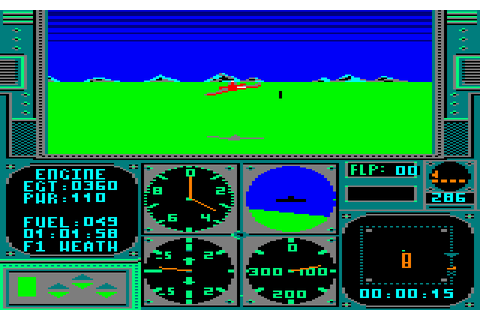 AcroJet: The Advanced Flight Simulator (1987) by ...