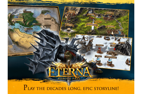 Download Free Android Game Eterna: Heroes Fall - Deep RPG ...