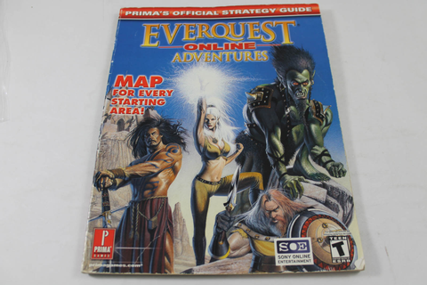 Everquest Online Adventures Guide - Prima Games
